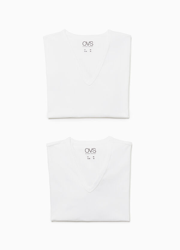 Two-pack stretch undershirts