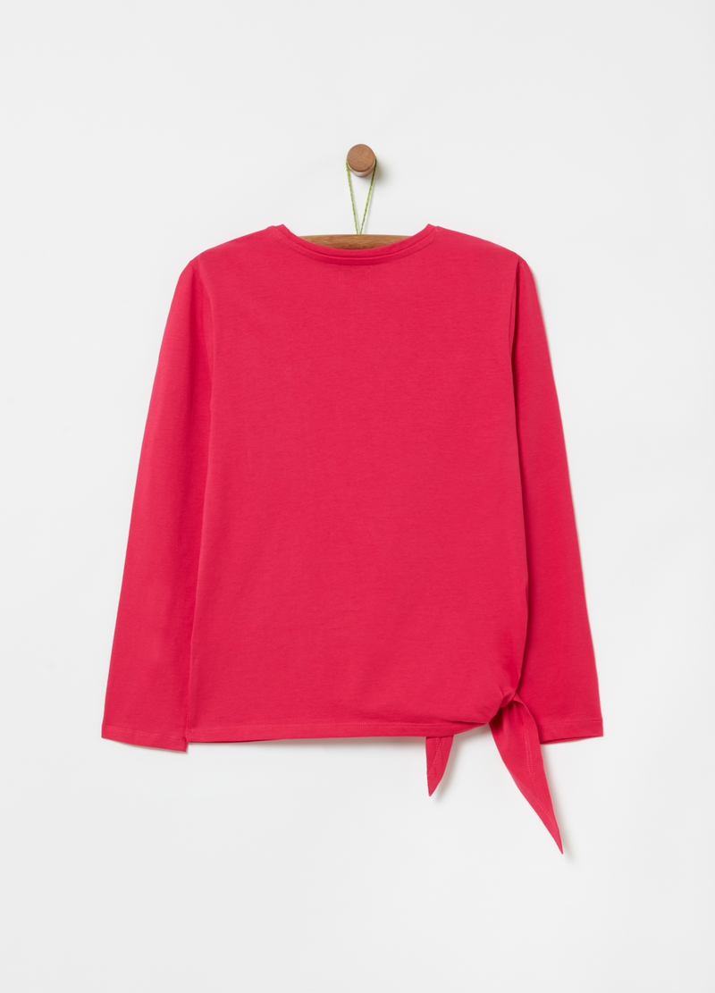 T-shirt con taschino in pizzo image number null