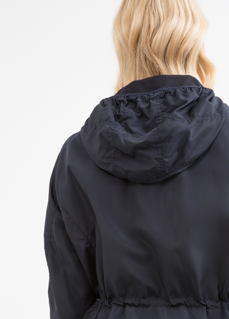 Curvy jacket with hood image number null