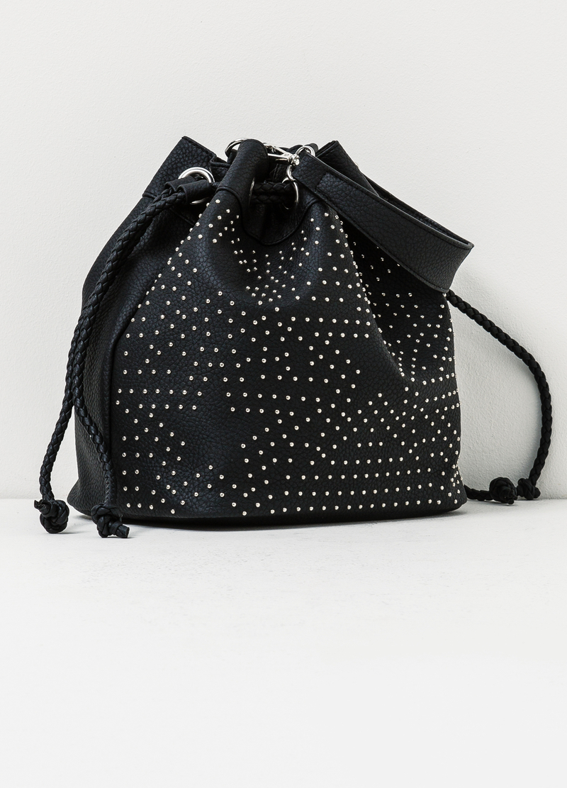Across body bag with studs image number null