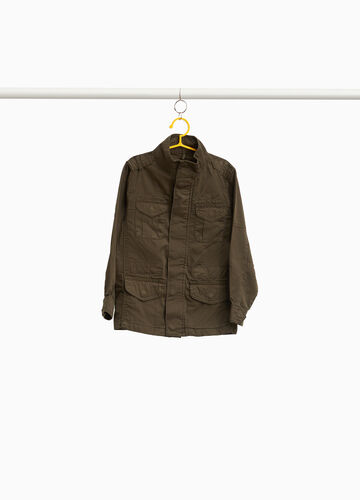 100% cotton jacket with pockets