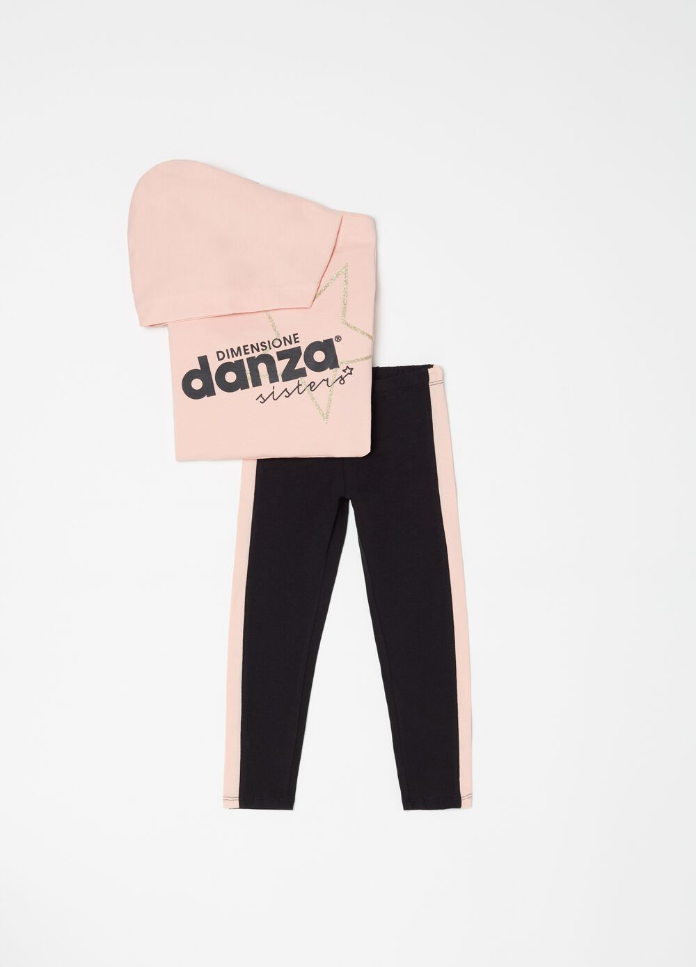 Jogging set stampa Dimensione Danza