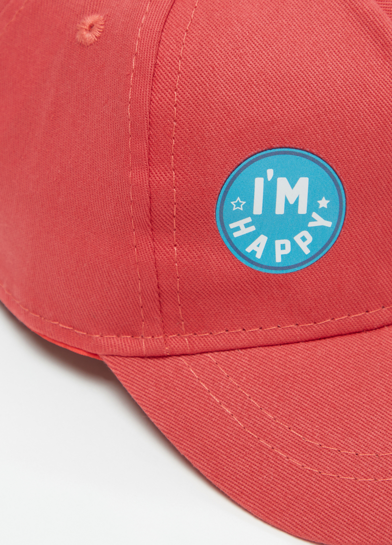Cotton baseball cap with print image number null