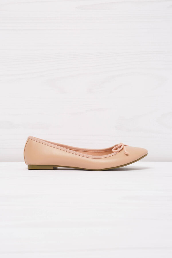 Ballerina flats with bow