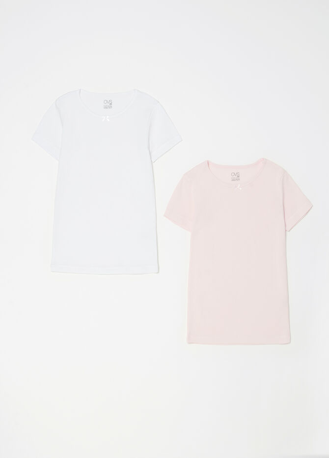 Set due t-shirt intime cotone organico