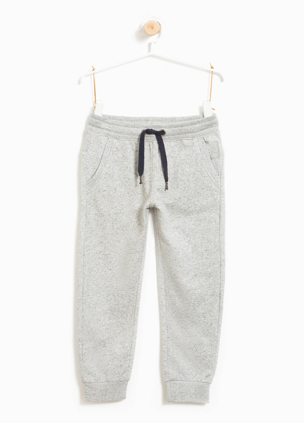Cotton mélange joggers