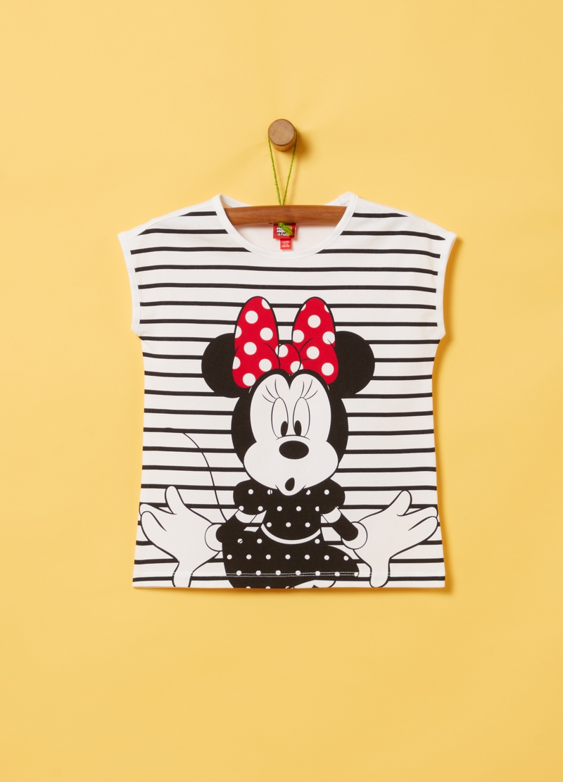 T-shirt cotone stretch Disney Minnie image number null