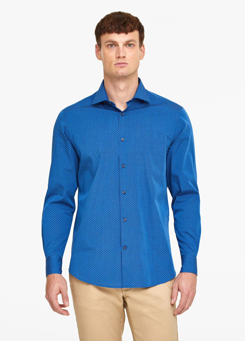 100% cotton formal shirt