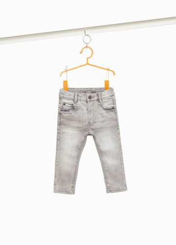 Jeans stretch effetto maltinto