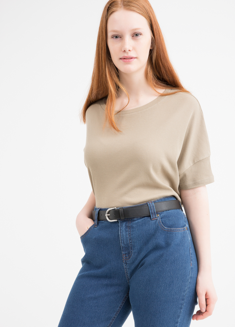 Curvy stretch jeans image number null