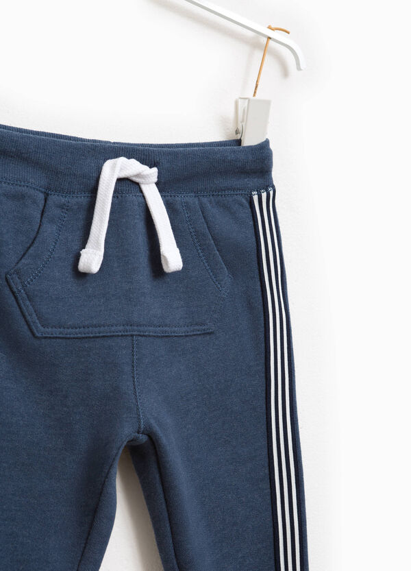 Joggers with side bands | OVS