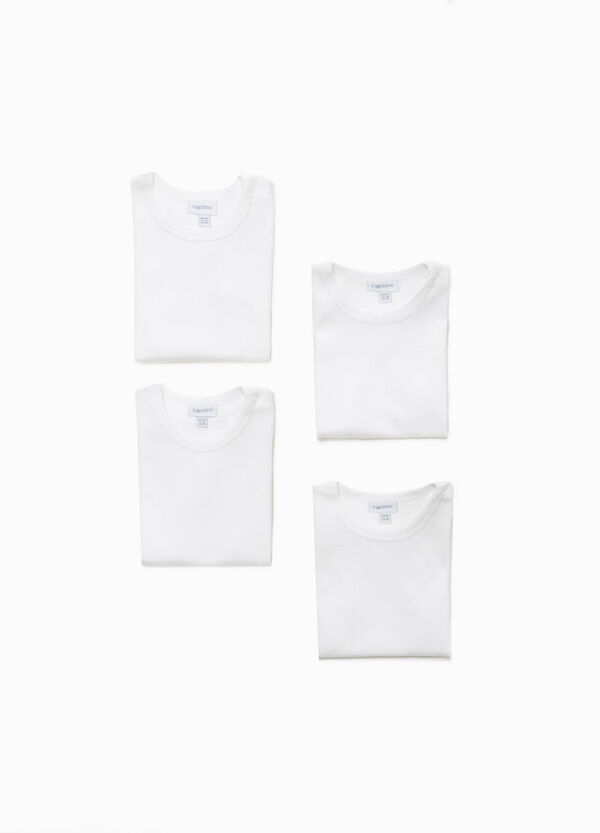 Four-pack organic cotton bodysuits | OVS