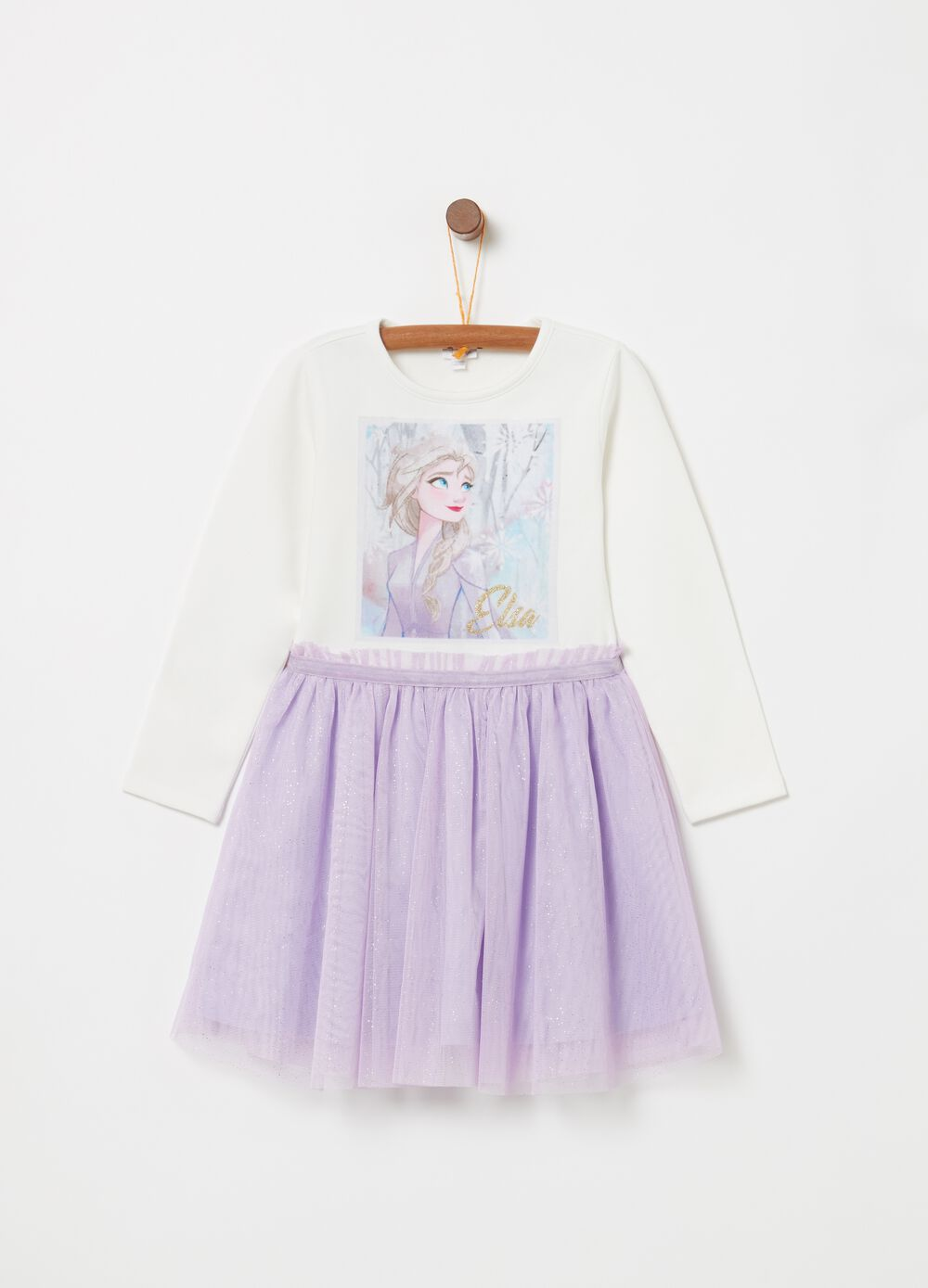 Vestitino con gonna tulle Disney Frozen 2
