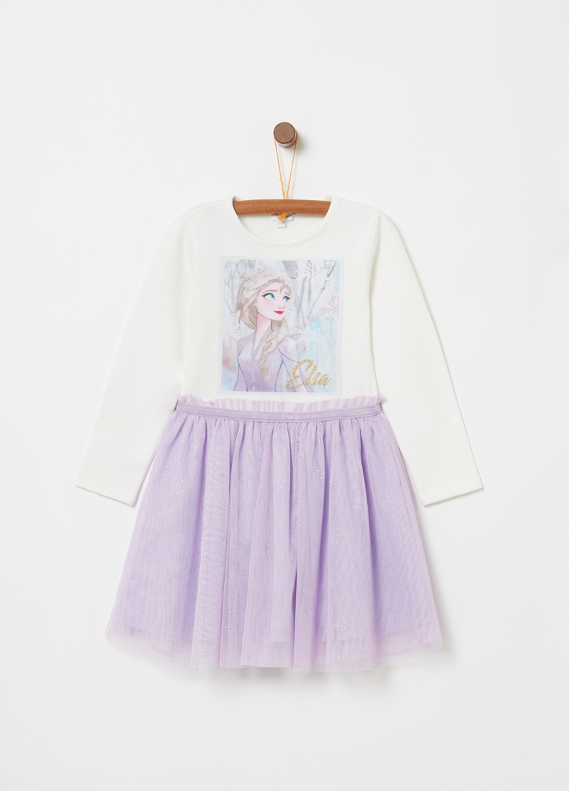 Vestitino con gonna tulle Disney Frozen 2 image number null