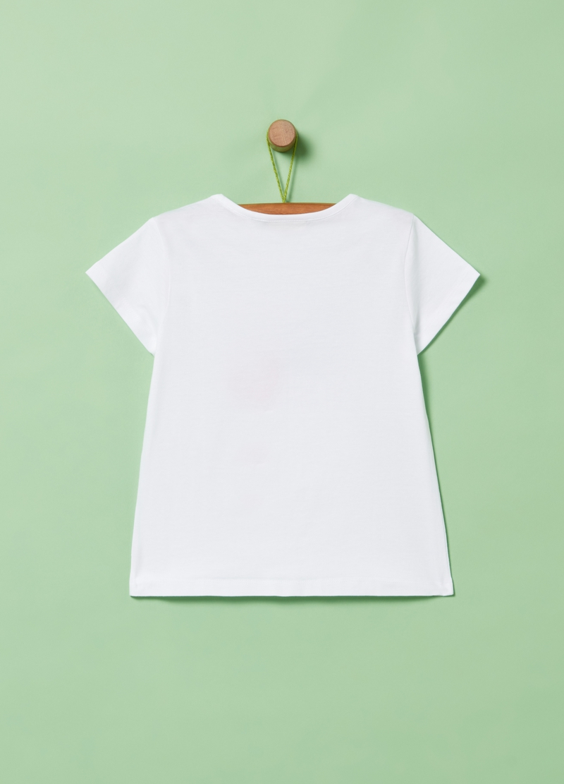 T-shirt in puro cotone stampa image number null
