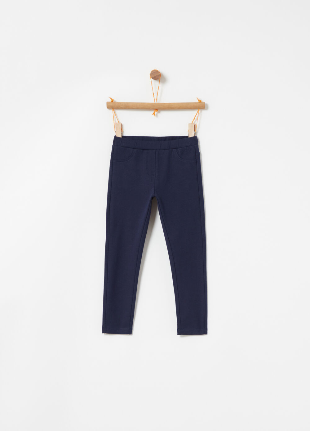 Biocotton fleece trousers