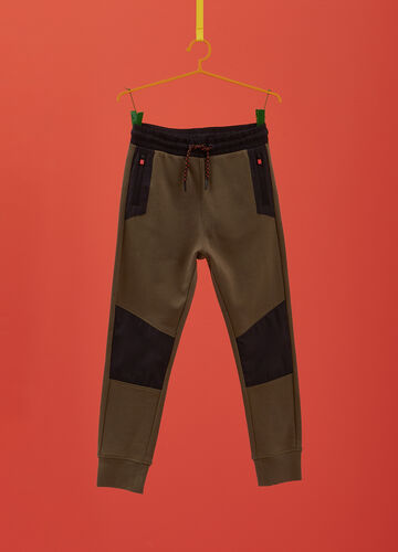 100% cotton joggers with inserts