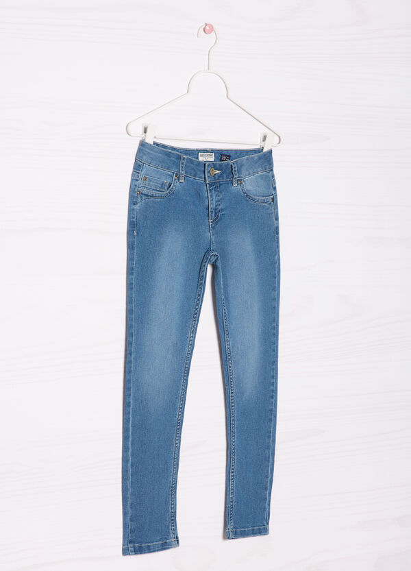 Faded-effect jeans | OVS