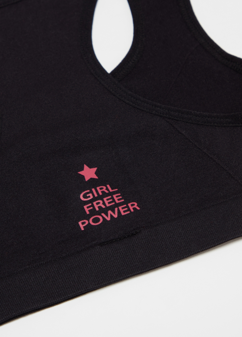 Gym top with round neckline image number null