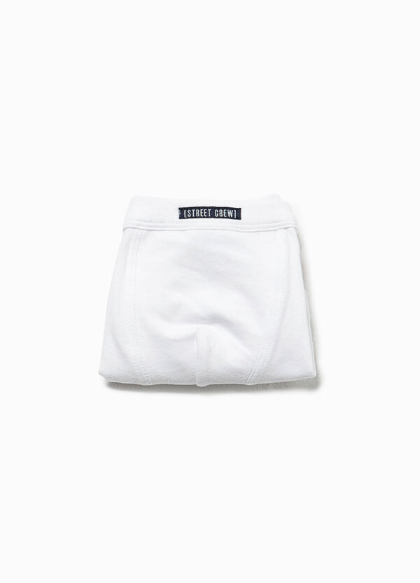 Organic cotton boxers with patches
