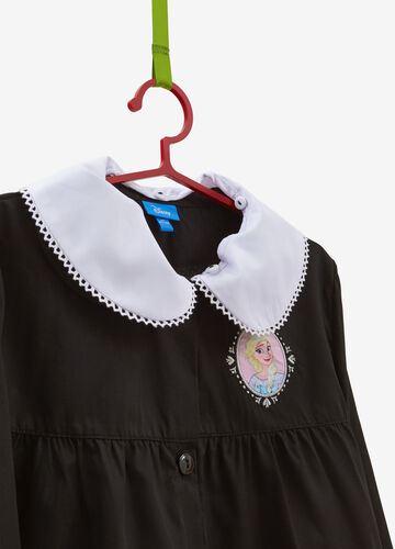 Cotton blend smock with Frozen patch