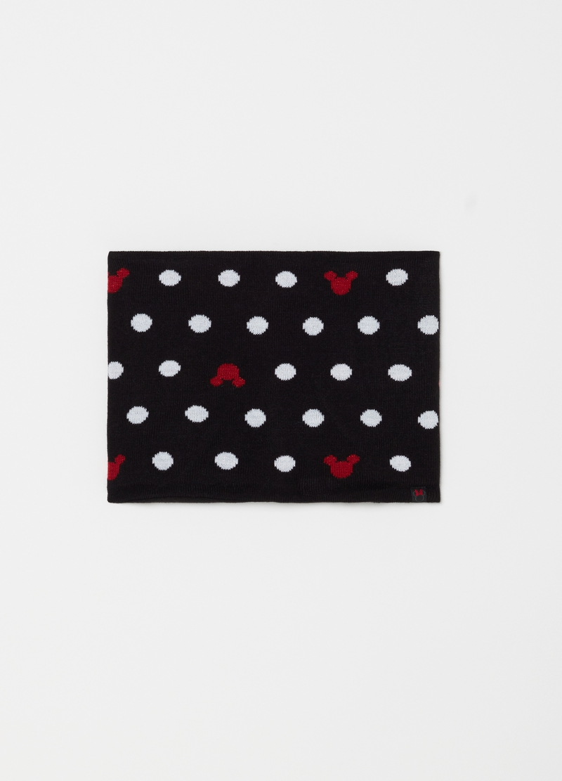 Scaldacollo a pois Disney Minnie image number null