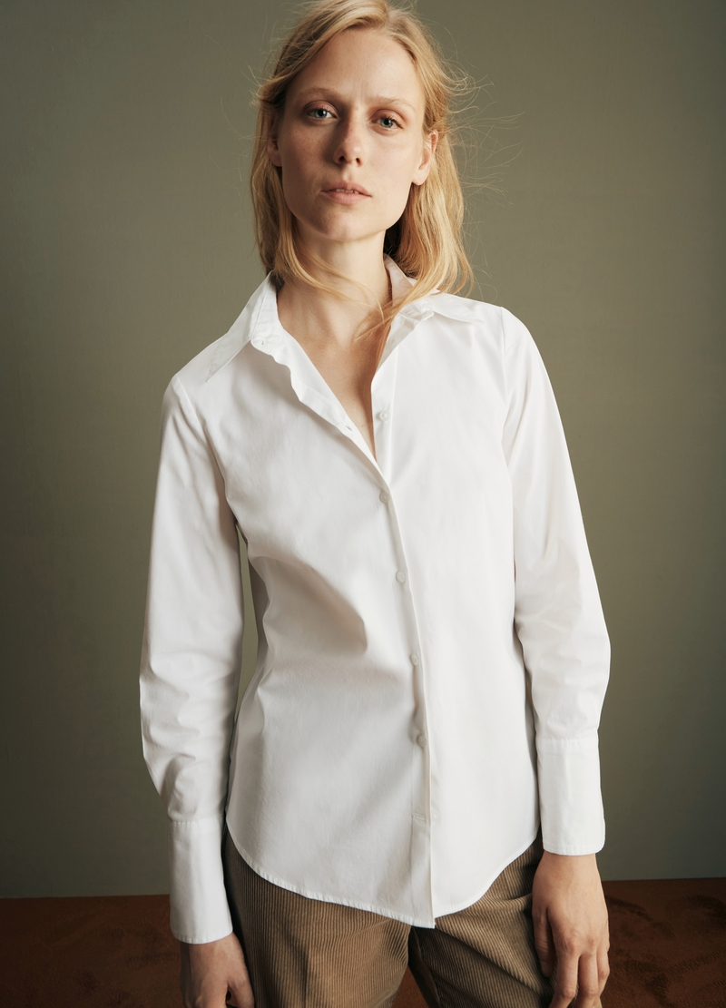 PIOMBO Camicia in popeline image number null
