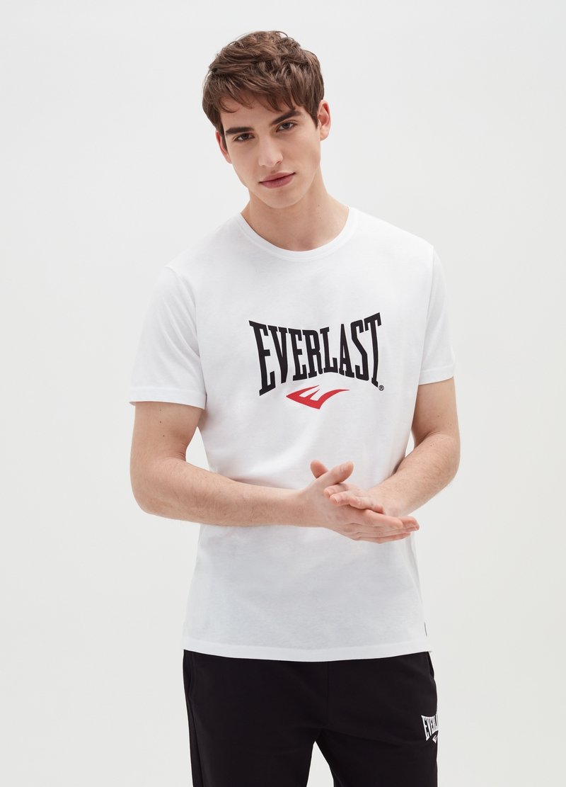 T-shirt in cotone stampa Everlast image number null