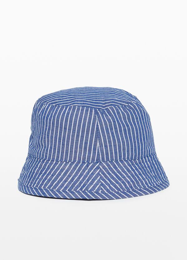 Striped fishing hat