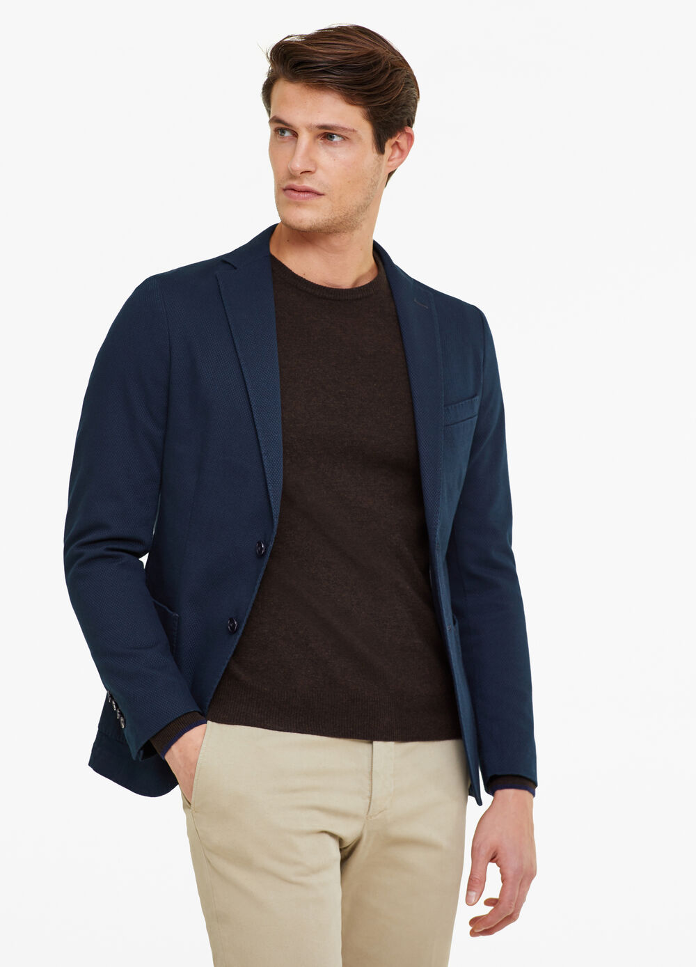 Rumford two-button blazer