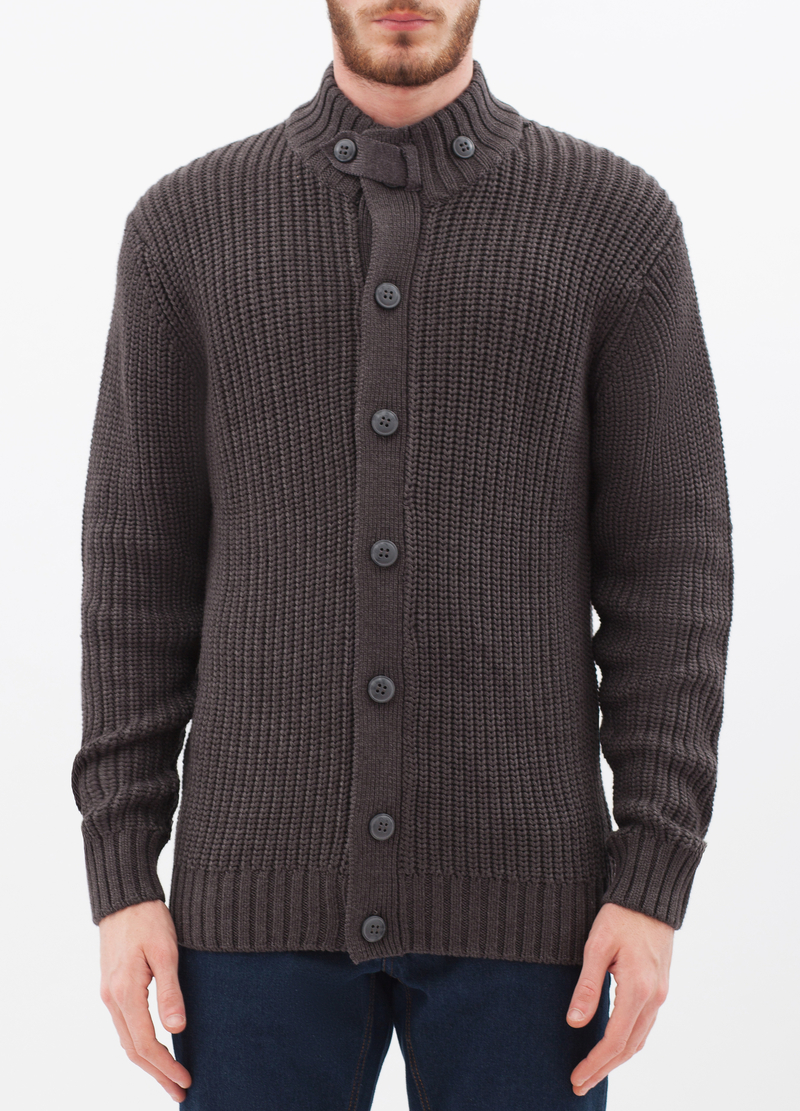 Cardigan misto cotone tricot image number null