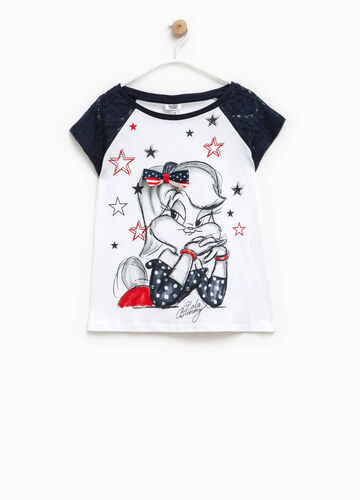T-shirt with Lola Bunny print