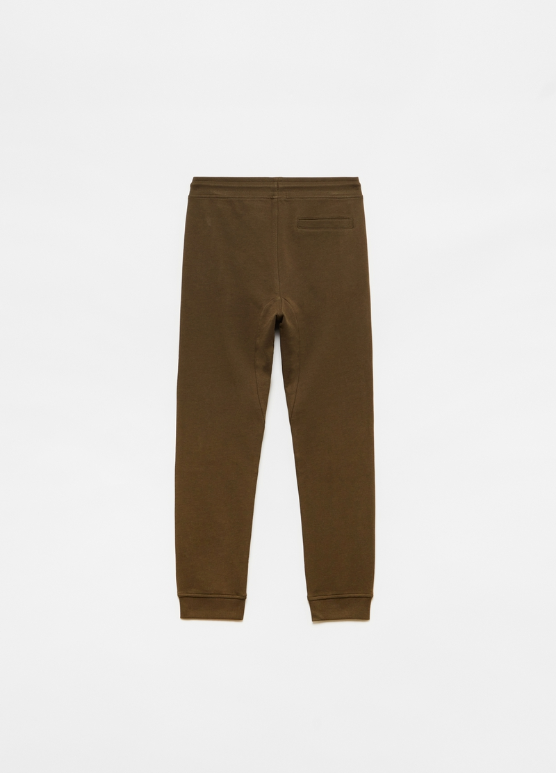 Biker joggers with drawstring and pockets image number null