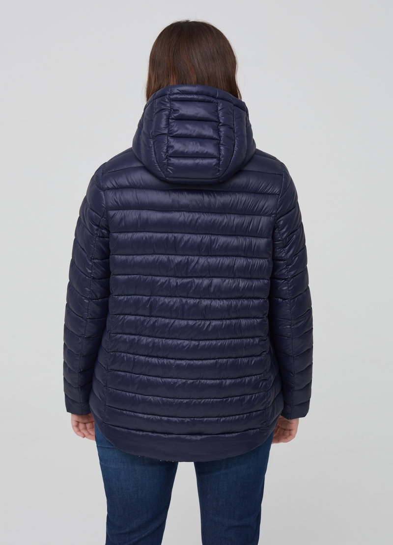 Curvy ultra-lightweight quilted jacket image number null
