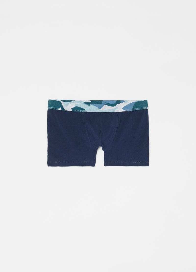 Three-pack stretch camouflage boxer shorts image number null