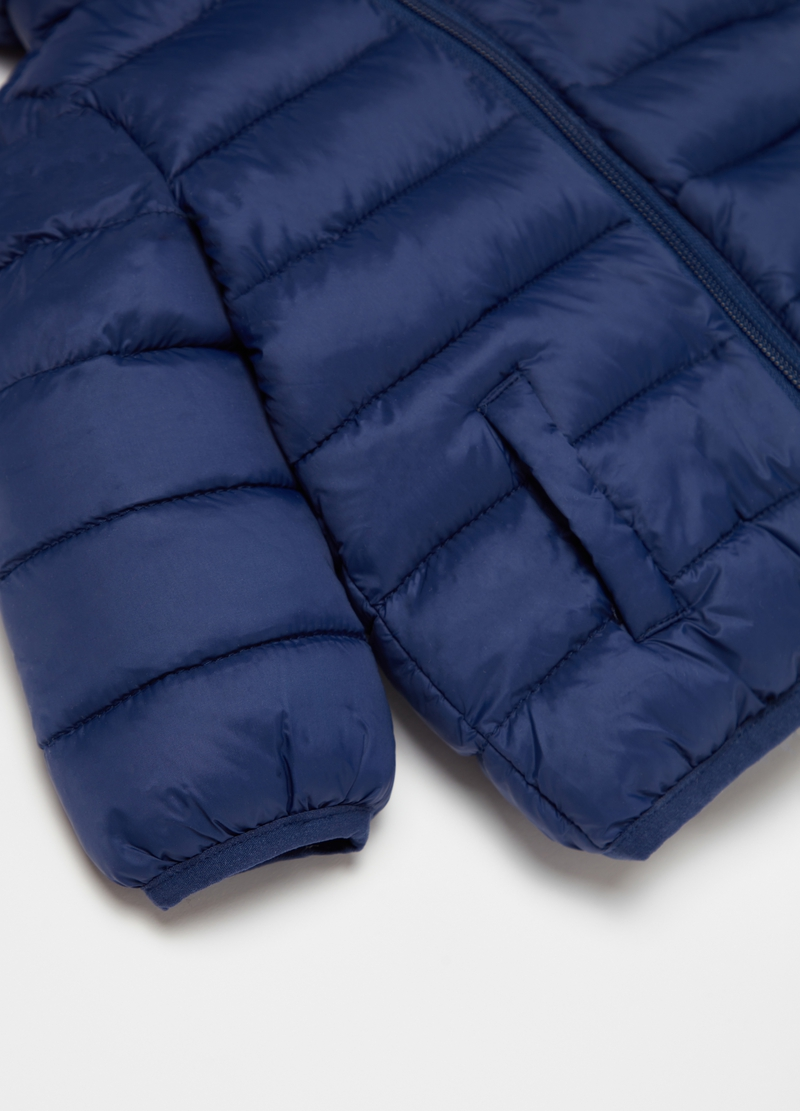 Quilted ultralight down jacket with zip image number null
