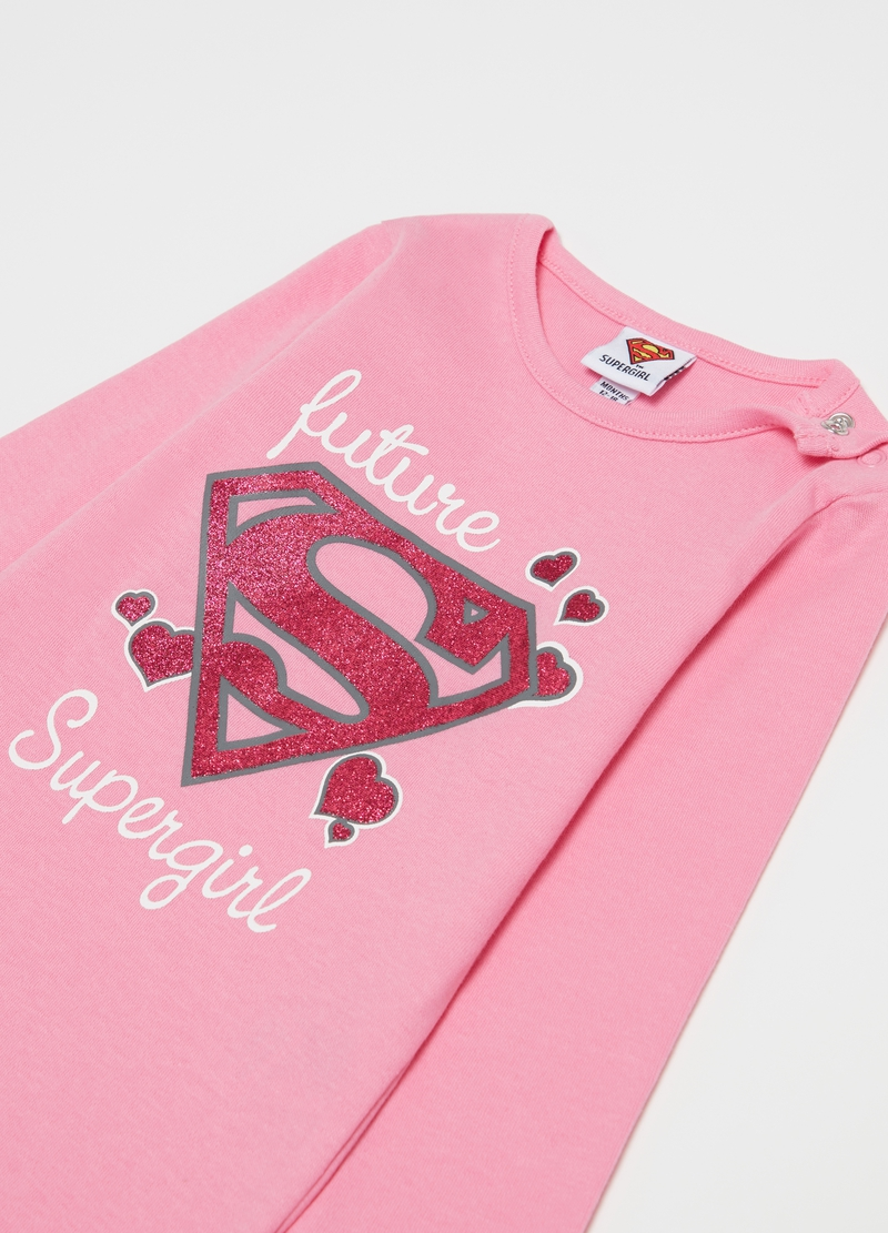 Body con stampa Warner Bros Supergirl image number null