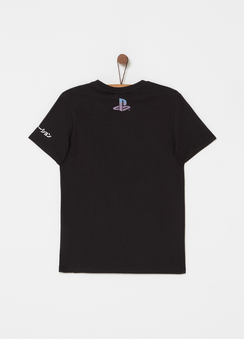 T-shirt in cotone stampa Playstation image number null