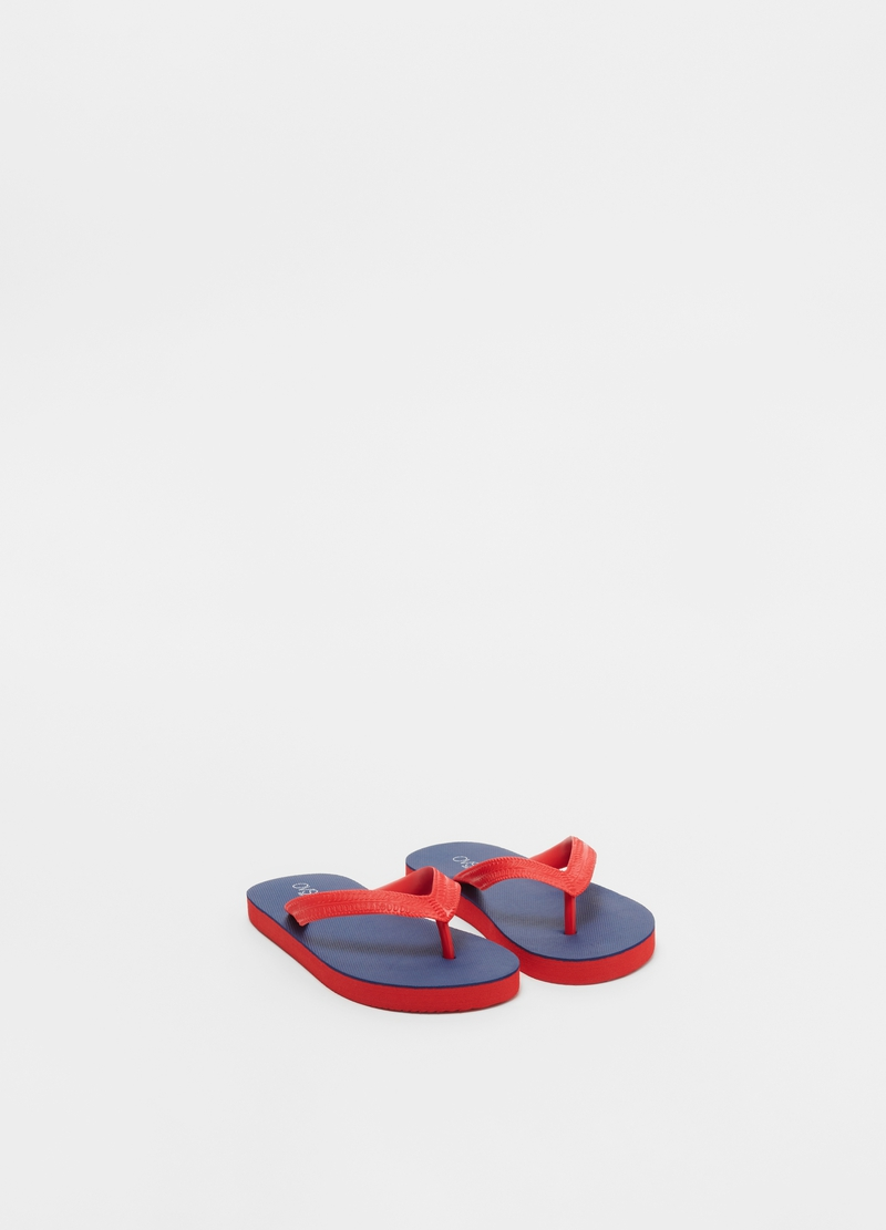 Flip-flops with two-tone bands image number null