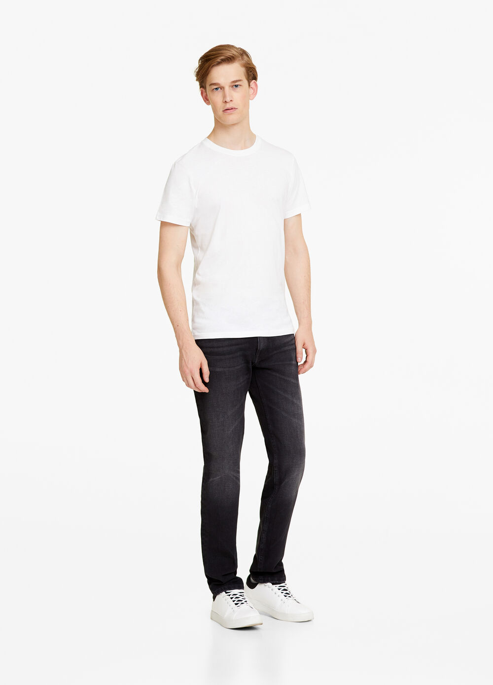 Used slim-fit dual stretch jeans