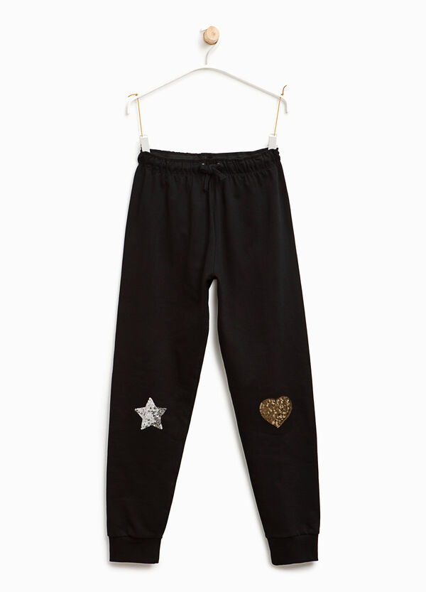 Joggers with sequins   OVS