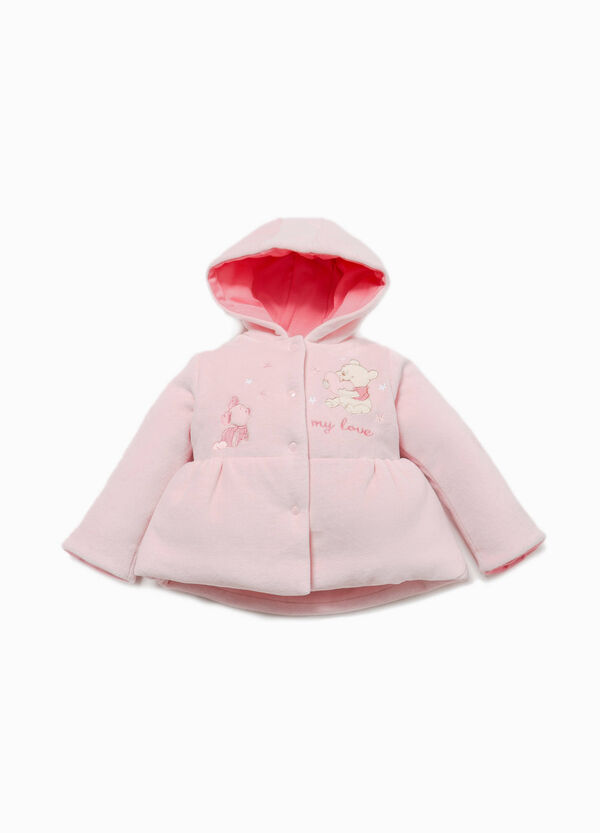 Jacket with Winnie the Pooh patch and embroidery | OVS
