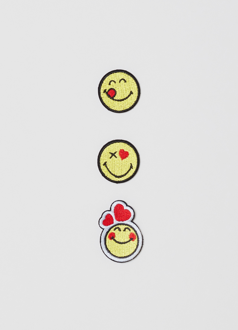 Grembiule con patch Smiley World image number null