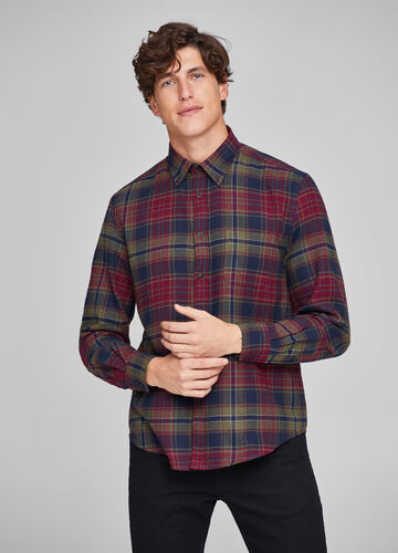 Check patterned casual shirt