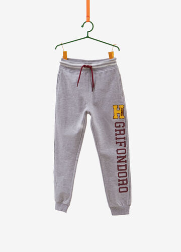 Pantaloni tuta con patch e stampa Harry Potter