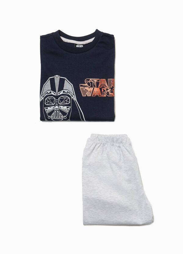 Maxi Star Wars print pyjamas