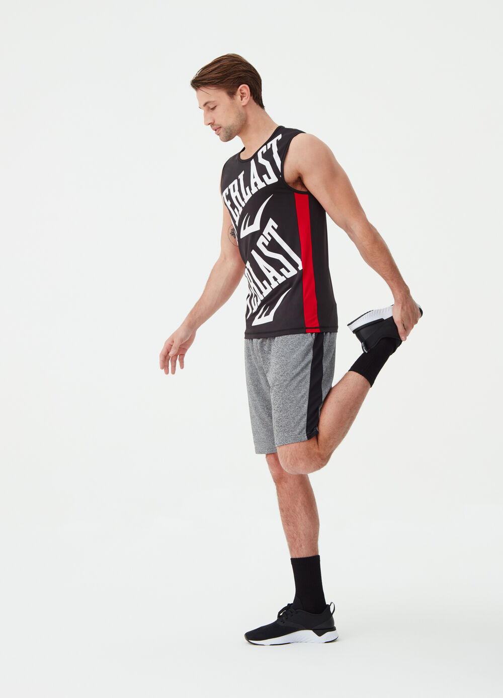 Everlast sleeveless stretch T-shirt