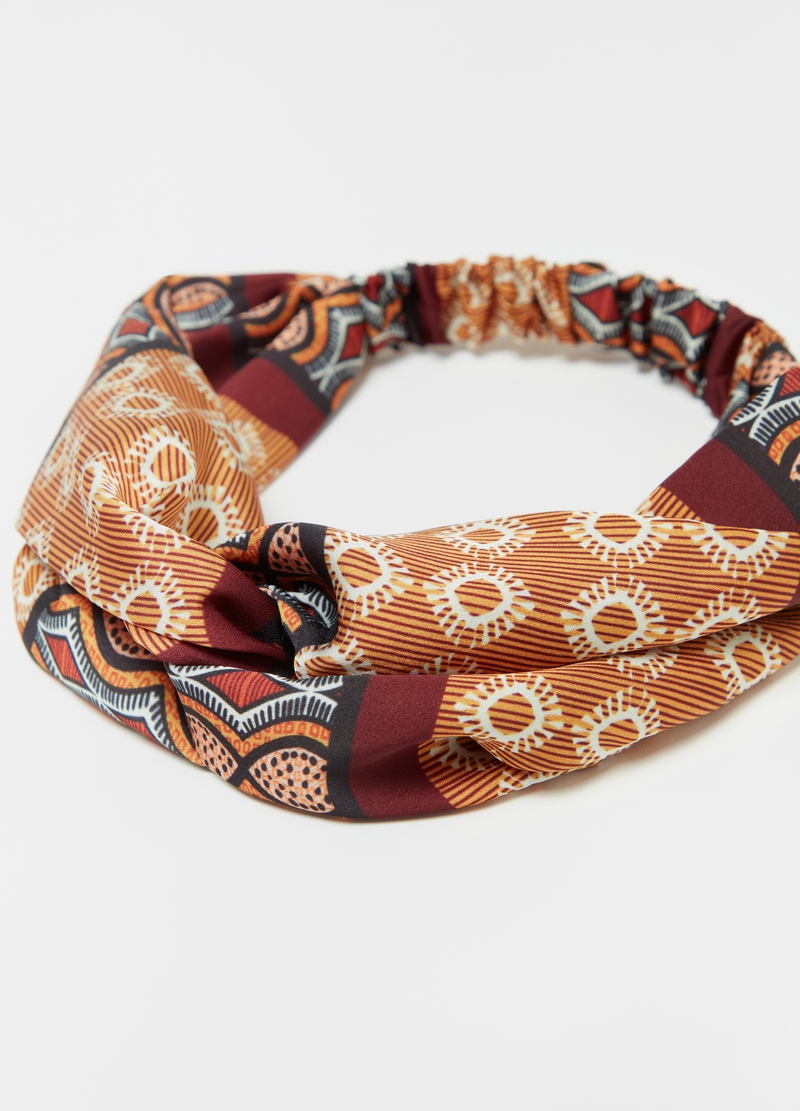 Headband with ethnic pattern image number null