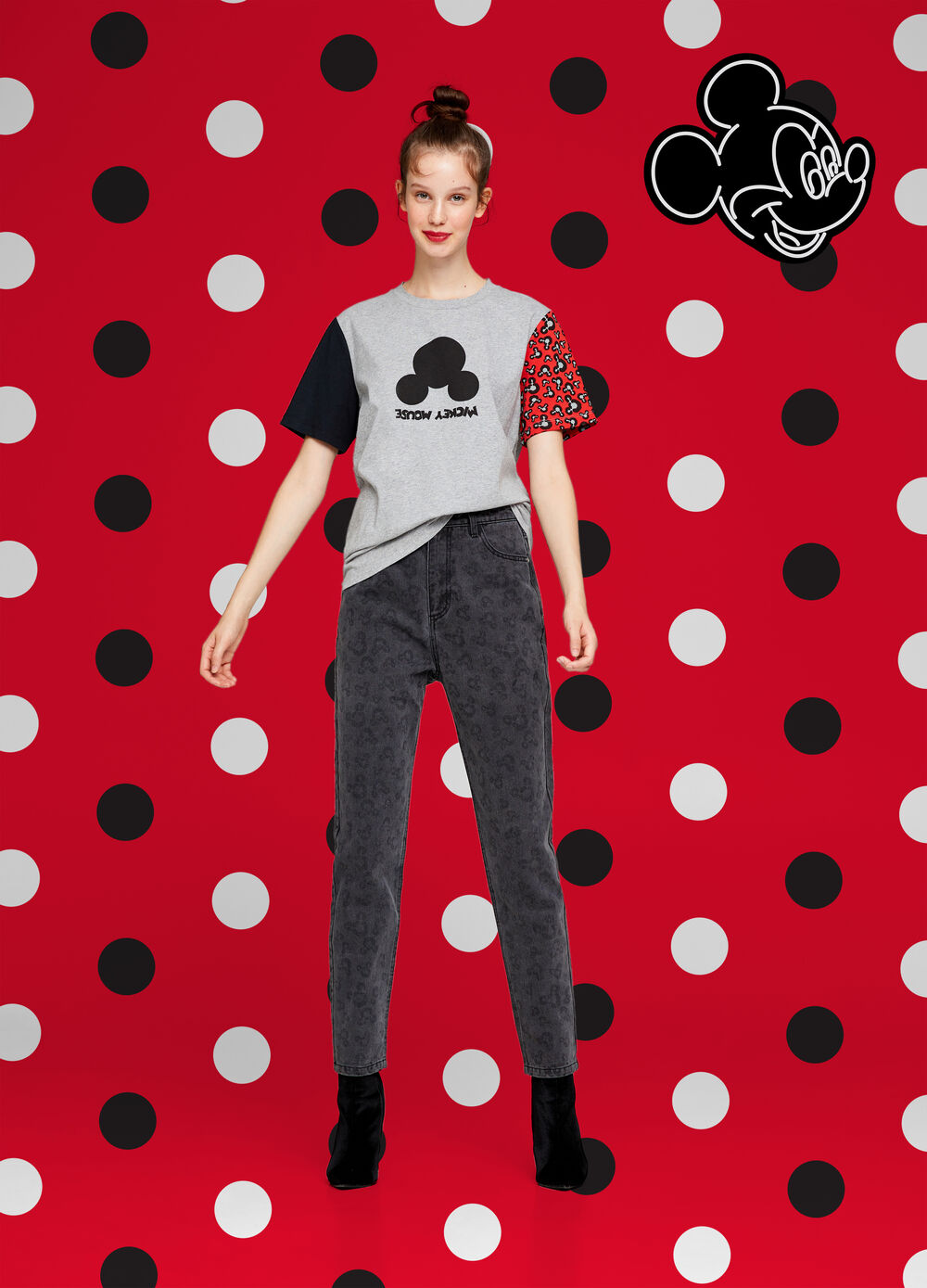 Mickey Mouse mélange T-shirt