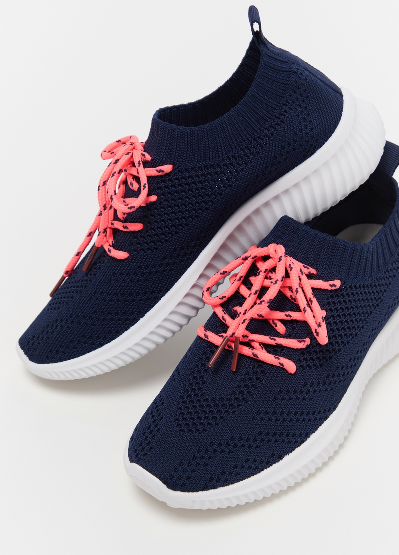Sock sneakers with laces image number null
